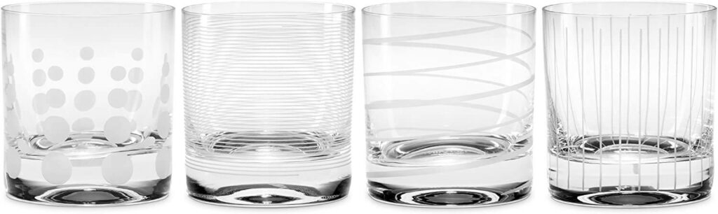 Mikasa Double Old Fashioned Glass best barware for wedding registry