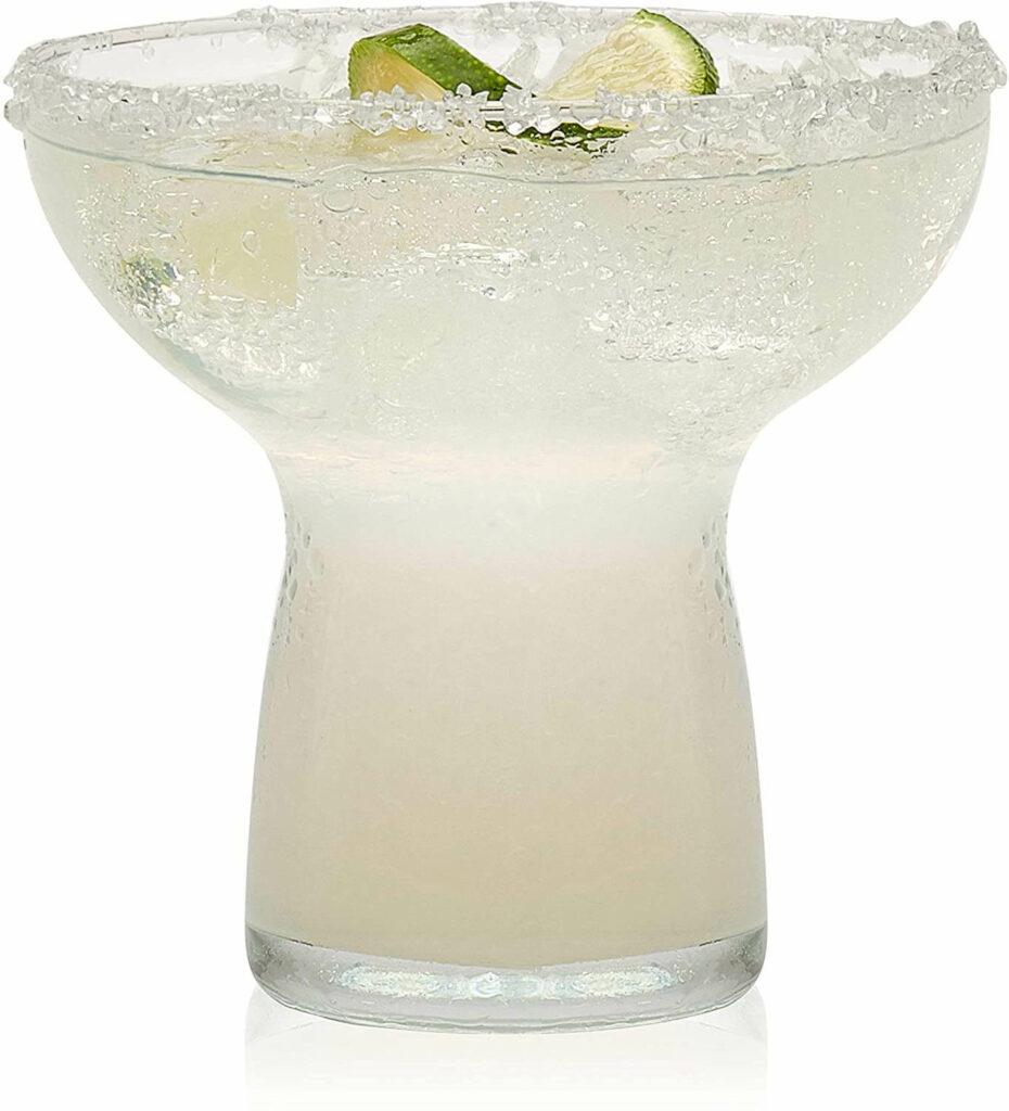 Libbey Stemless Margarita Glasses, Set of 6 best barware for wedding registry