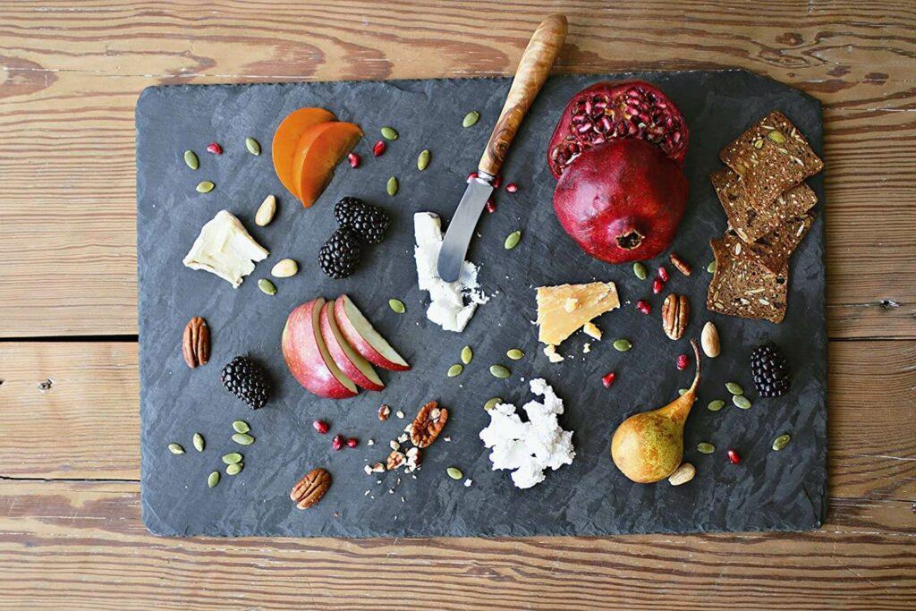 Brooklyn Slate Co. Slate Cheese Board best serveware for wedding registry