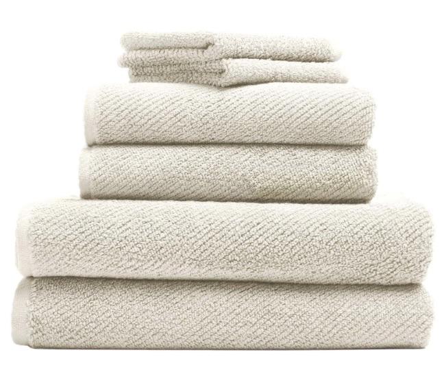 wedding registry ideas coyuchi air weight organic towels 6 piece set