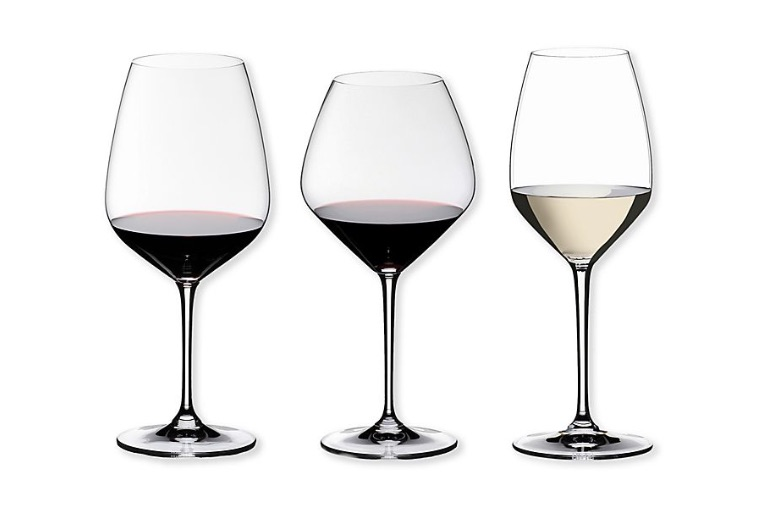 wedding registry ideas riedel heart to heart wine glass collection