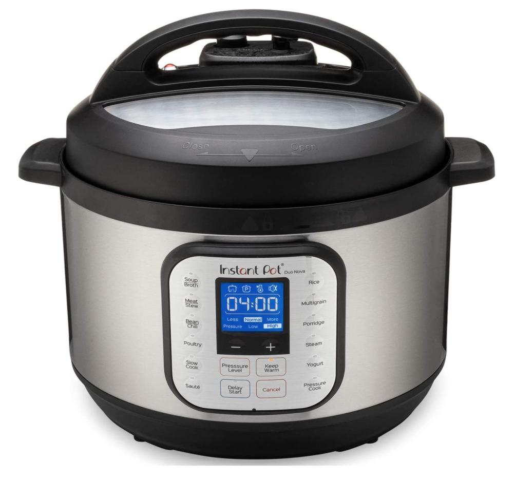 wedding registry ideas instant pot 10-quart duo nova 7-in-1 pressure cooker