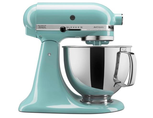 wedding registry ideas kitchenaid artisan series 5-quart stand mixer