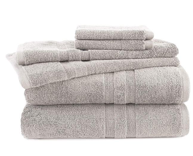 wedding registry ideas martex purity towels 6 piece set