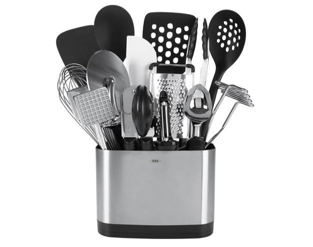 wedding registry ideas oxo good grips 15-piece everyday kitchen utensil set