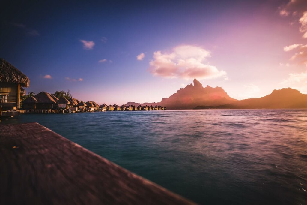 tahiti bora bora honeymoon