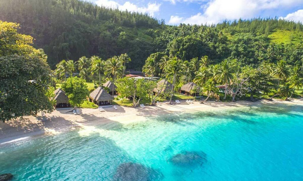 huahine tahiti bora bora honeymoon