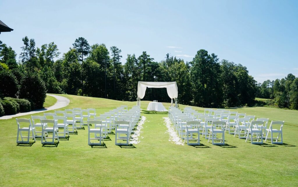 the palisades country club outdoor wedding venues charlotte nc