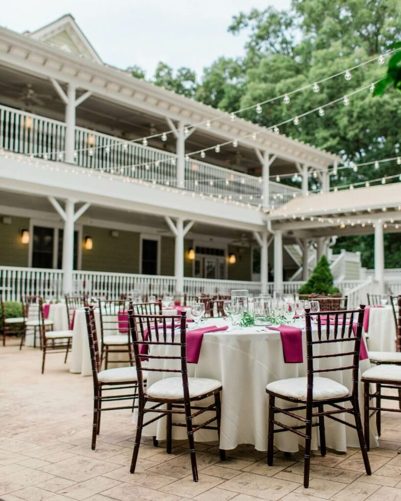 whitehead manor outdoor wedding venues charlotte nc