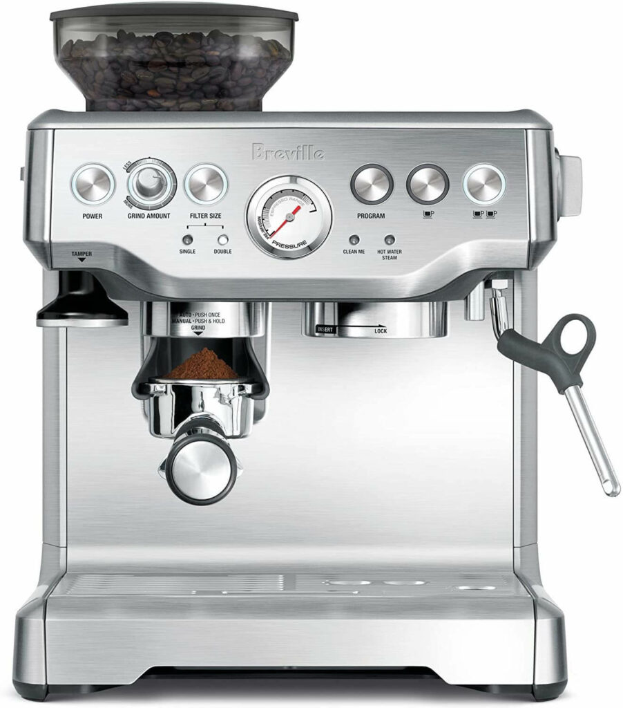 Breville Barista Express Espresso Machine virtual wedding gifts