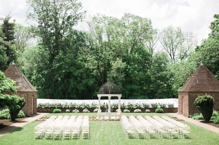 tyler gardens outdoor wedding venues philadelphia