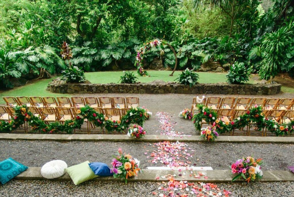 waimea valley oahu wedding venues