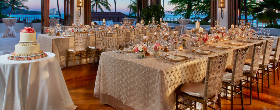 halekulani hotel on waikiki beach oahu wedding venues