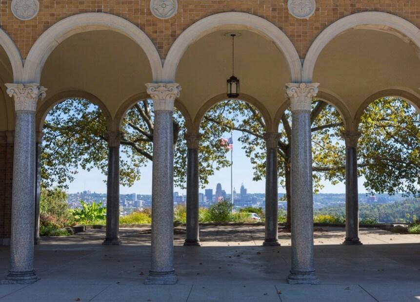 mt. echo park pavilion outdoor wedding venues cincinnati