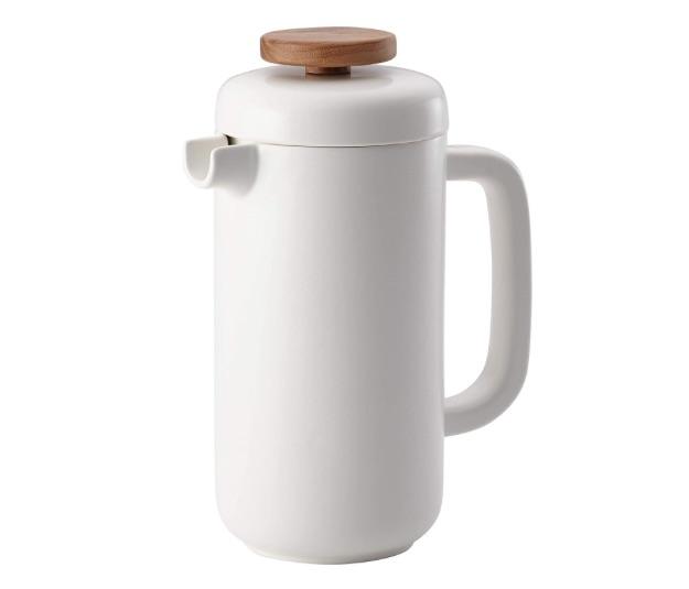 BonJour Coffee & Tea Ceramic French Press Coffee Maker, 8-Demitasse-Cup bridal shower gift ideas