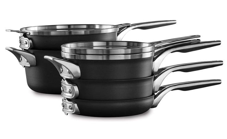 Calphalon Nonstick Cookware Set, 8-Piece bridal shower gift ideas