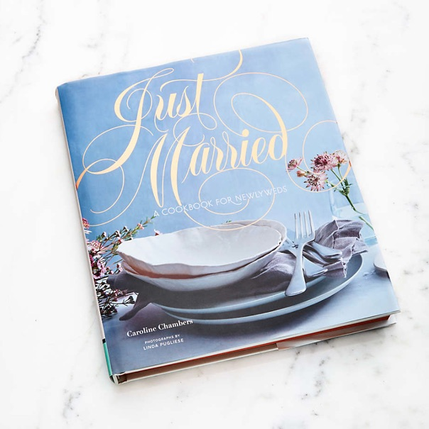 Just Married Cookbook bridal shower gift ideas