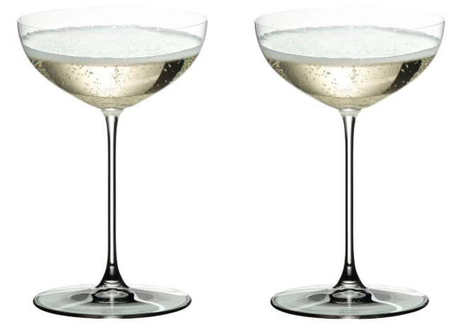 Riedel Veritas Coupe Glasses, Set of 2 bridal shower gift ideas