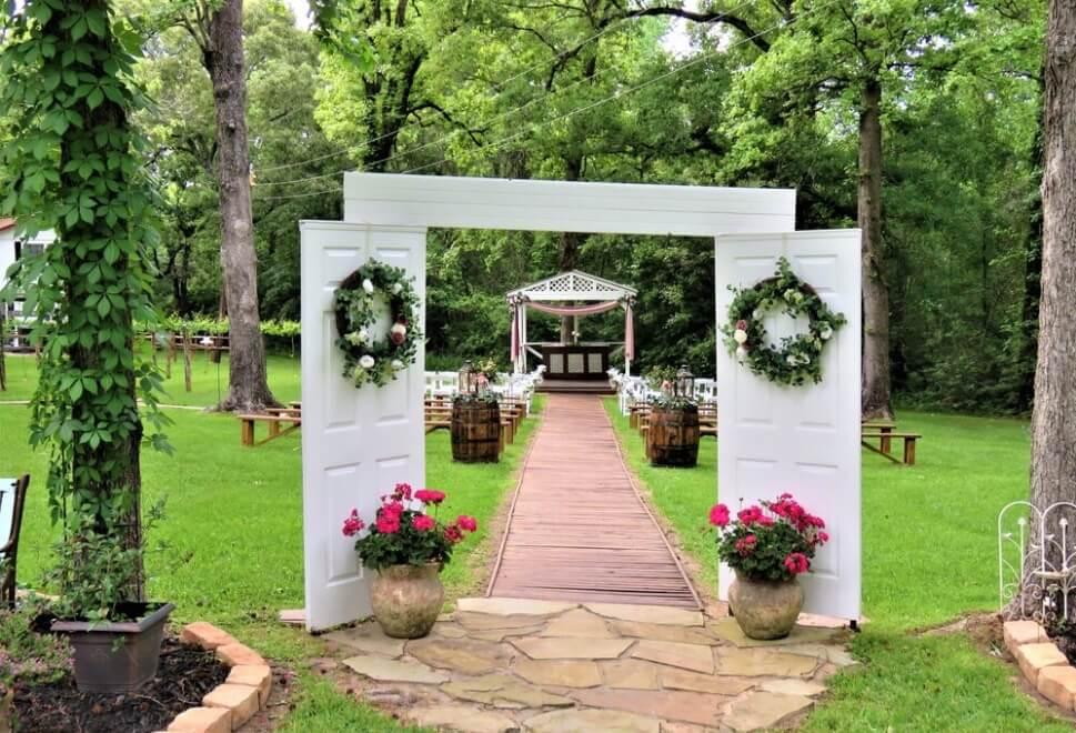 miller's creek rustic events rustic wedding venues houston