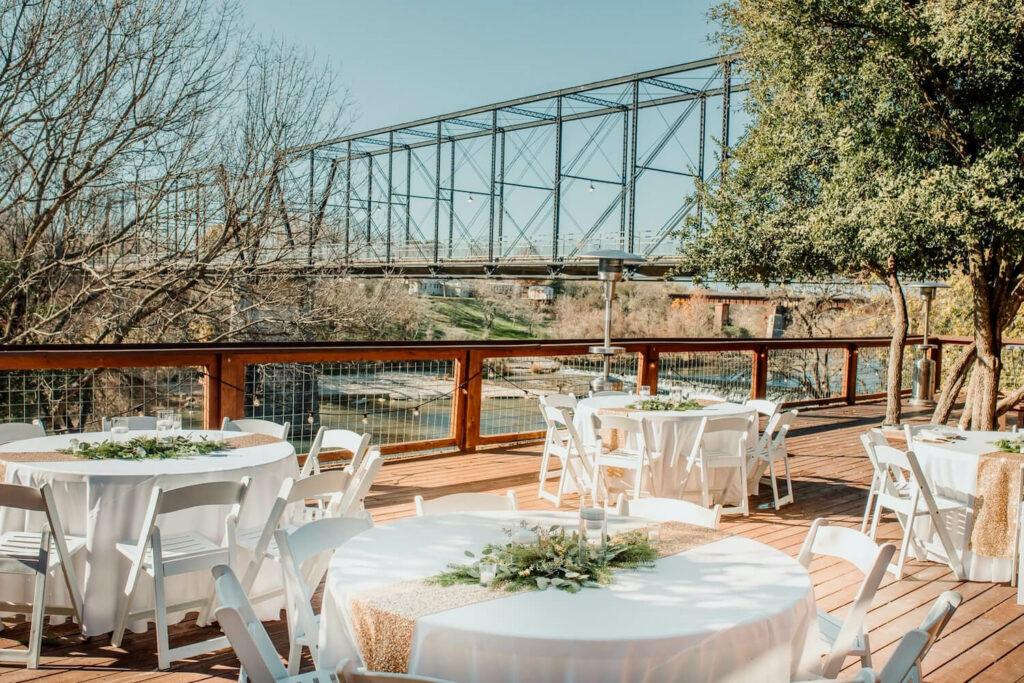 rustic wedding venues san antonio milltown historic district