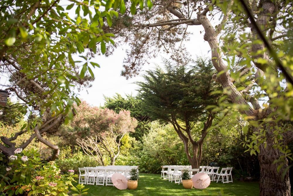 hastings house garden rustic wedding venues bay area