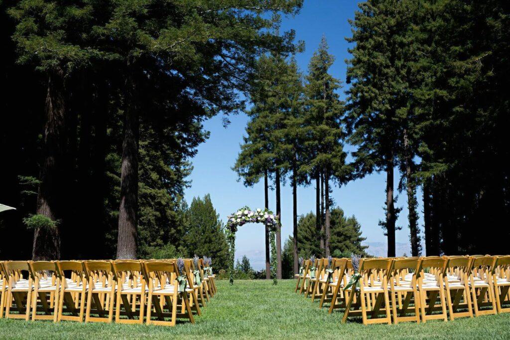 the mountain terrace rustic wedding venues bay area