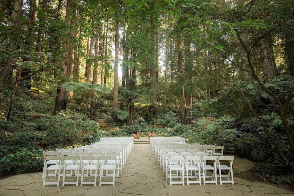 nestldown rustic wedding venues bay area