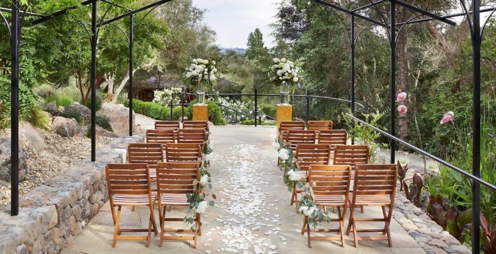 intimate destination wedding ideas auberge du soleil