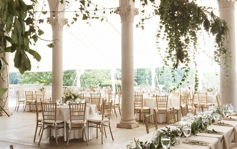 affordable wedding venues cincinnati ault park pavilion