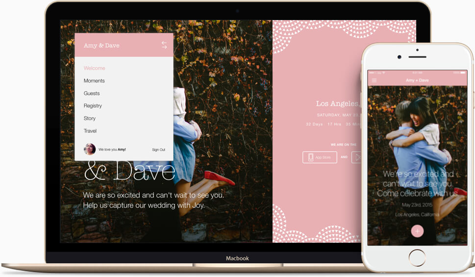 Create A Beautiful Wedding Website And Native Mobile App That Makes Your Guests Lives Easier Yours Too It Sharing Coordinating All
